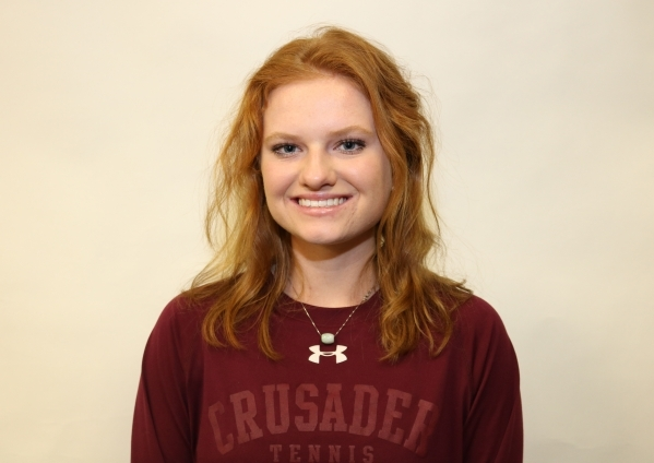 Madison Foley, Faith Lutheran: The junior finished second in the Division I-A state singles tournament. After finishing second in the Southern Region singles tournament, she helped the Crusaders t ...