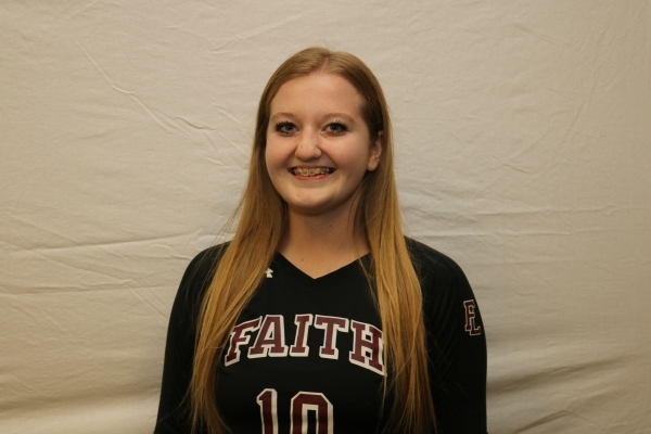 Megan Kronschnabel, Faith Lutheran: The Division I-A state Player of the Year as a senior, Kronschnabel was second in Nevada with 1,135 assists (10.5 per set) and helped the Crusaders capture the  ...