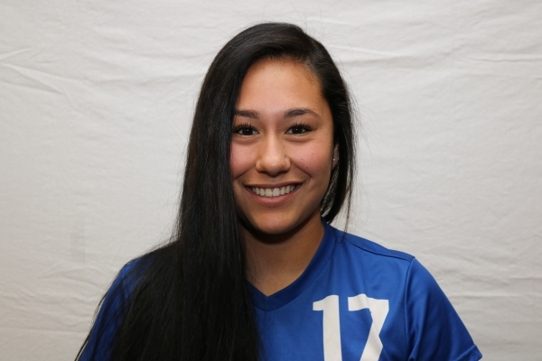 Kiyana Lopez, Green Valley: The senior, who shared time in goal, still posted eight shutouts and helped the Gators advance to the Sunrise Region semifinals. She was the goalkeeper of the year in t ...