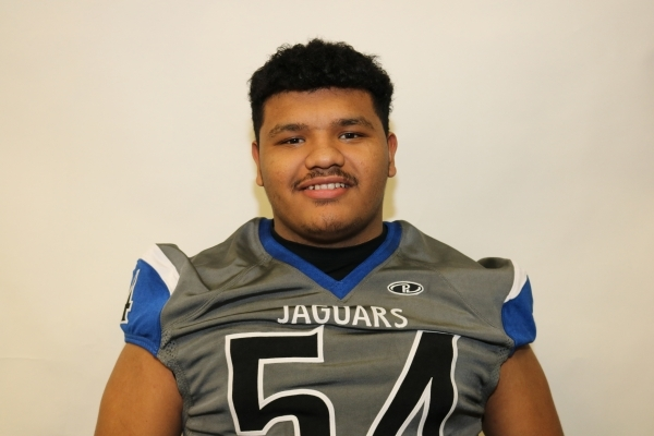 DL Angel Torres, Desert Pines (6-0, 270): The senior was the Defensive MVP in the Division I-A Southern Region and Sunrise League. Torres had 57 tackles and nine sacks.