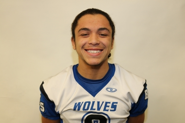 DB Brian Evans, Basic (5-10, 160): The senior intercepted three passes and had 42 tackles. He was a first-team All-Southeast League pick at cornerback.