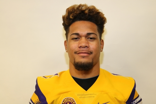 LB Jeremiah Pritchard, Silverado (5-11, 190): The senior linebacker/safety hybrid led the Skyhawks in tackles and intercepted four passes. He made the All-Northeast League second team at strong sa ...