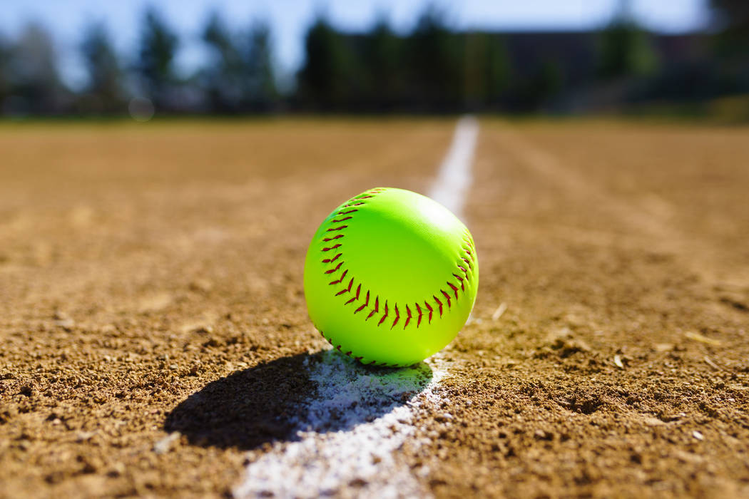 PICTURE OF SOFTBALL