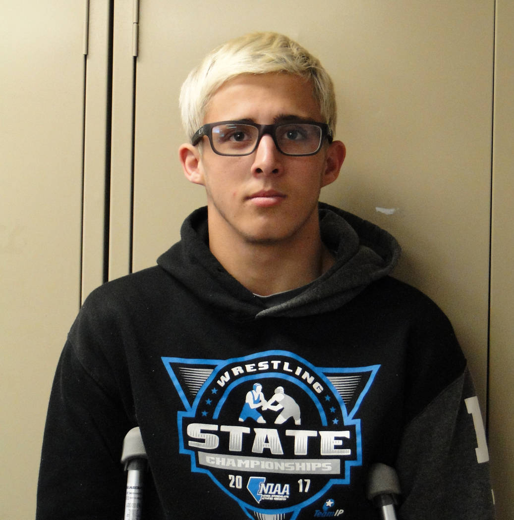 Cameron Thompson, Battle Mountain: The junior went 22-1 by and won the Class 2A state title by fall at 1:11. It was his third consecutive championship and helped the Longhorns to their fifth team  ...