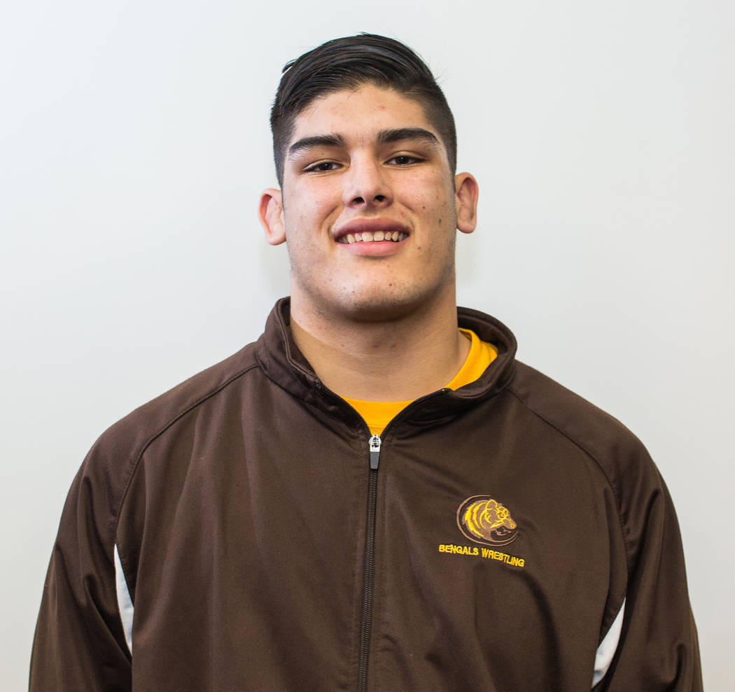 Elias Aguilar, Bonanza: The senior placed in the top two of the state tournament for the second consecutive year, placing second in the 220-pound division at the Class 4A state tournament after wi ...