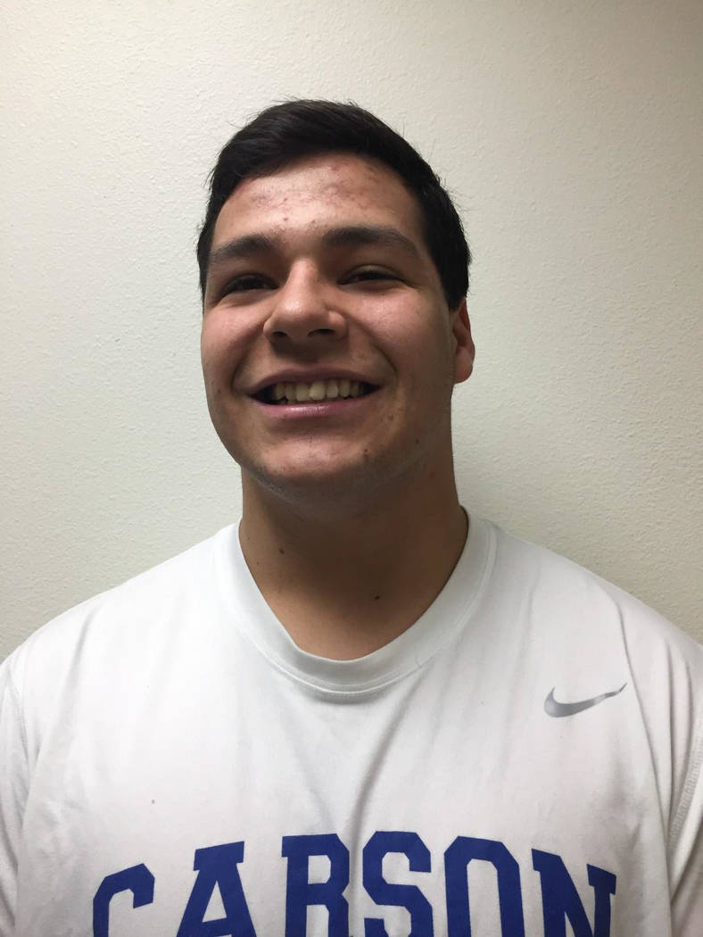 Sheldon Miller, Carson: The senior won the 285-pound state championship by fall in just 20 seconds. He also won the Class 4A Northern Region title and was named to the All-Northern Region first team.