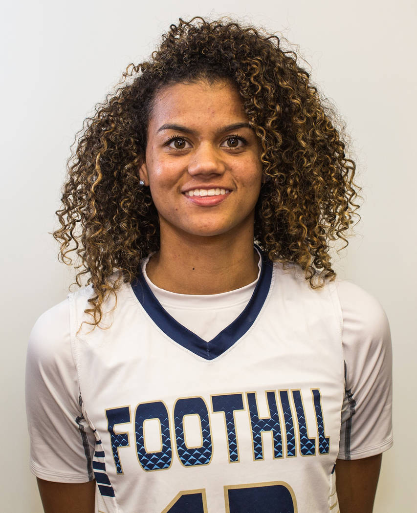 Rae Burrell, Foothill (6-1, G/F): The junior was a first-team All-Southeast League pick and helped the Falcons to the Sunrise Region title. Burrell averaged 17.5 points, 7.5 rebounds, 1.9 assists  ...