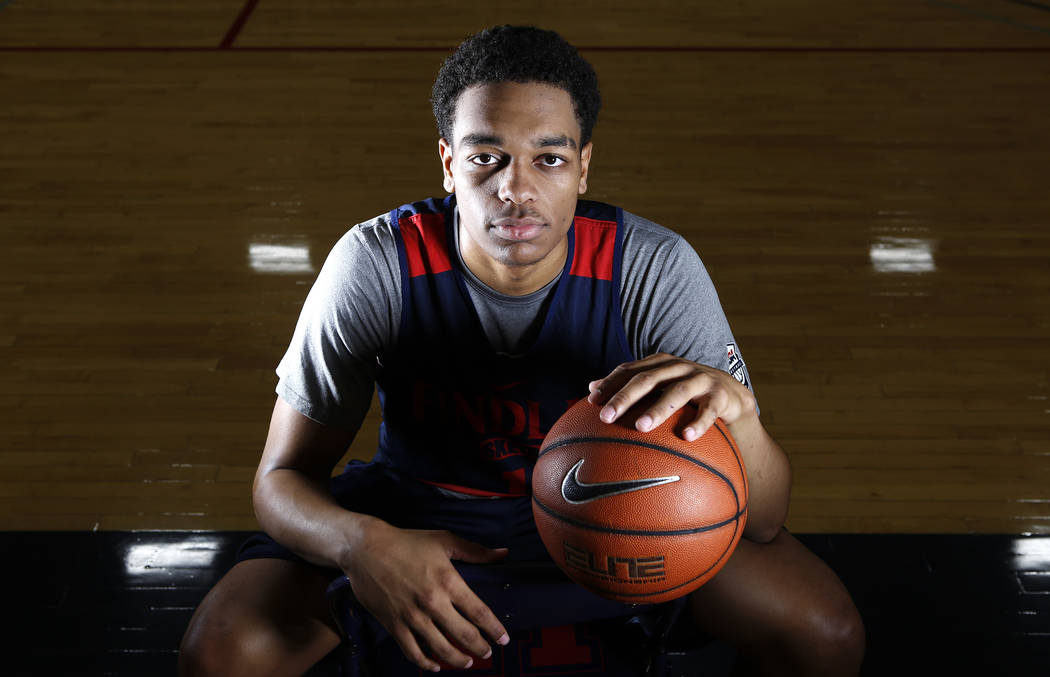 Findlay Prep's P.J. Washington is seen a portrait at the Henderson International School on Friday, March 24, 2017, in Henderson. Washington is a Kentucky commit and a McDonald's All America ...