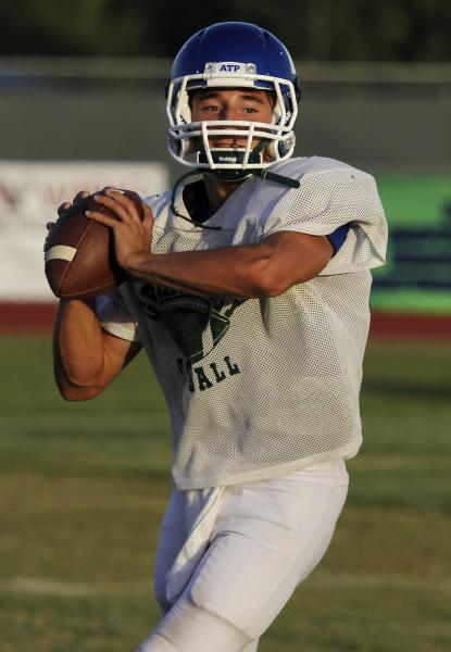 Green Valley quarterback Christian Lopez is the area's leading passer with 887 yards.