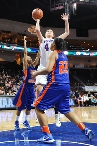 Reno''s Mallory McGwire shown shooting against Bishop Gorman, is the Review-Journal's girls state Player of the Year.