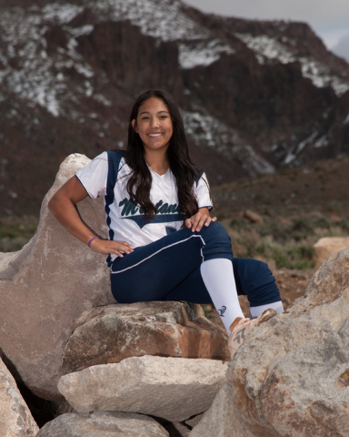 OF Brylynn Vallejos, Damonte Ranch: The sophomore outfielder hit .534 with five homers, 13 doubles, 22 RBIs and 44 runs for the Mustangs.