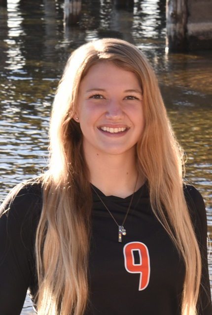 Isabella Peterson, Douglas: The senior outside/middle hitter was a first-team All-Sierra League pick. She ranked in the top 10 in the state in kills and led the Tigers in blocks as they reached th ...