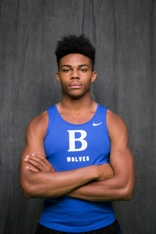 Frank Harris, Basic: The junior cleared 6 feet, 6 inches to win the Division I state high jump title, and also finished fourth in the 100-meter dash. Harris had the state's best mark in the high ...