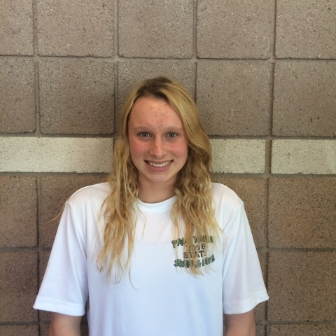 Grace Siebmann, Palo Verde: The sophomore was third in the 100 breaststroke and fourth in the 200 IM at the Division I state meet after finishing as the Sunset Region runner-up in both events.