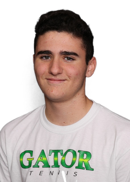 Ryan Elezra, Green Valley: The junior teamed with Robbie Sarosi to finish fourth at the Class 4A doubles tournament and win the Sunrise Region tournament. Elezra helped the Gators to a second-plac ...