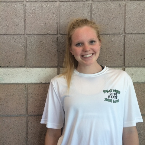 Hailey Houck, Palo Verde: The senior was the Division I Sunset Region champion in the 200 individual medley and the 100 butterfly. Houck was second in both events at the state meet. She has signed ...