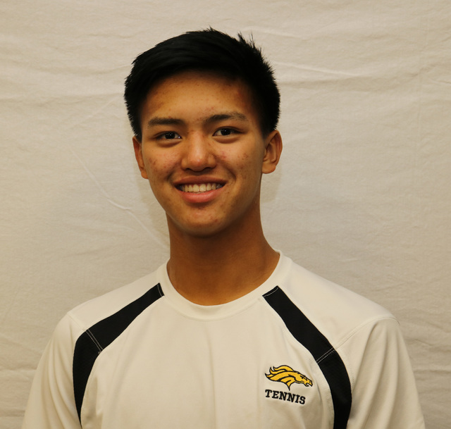 Marcus Pasimio, Clark: The senior teamed with Simran Shah to place second in both the Class 4A state and Sunset Region doubles tournaments. Pasimio helped the Chargers reach the Sunset Region team ...