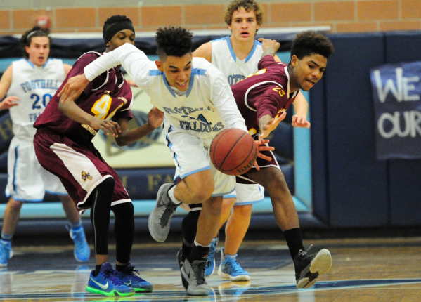 Marvin Coleman is one of four returning starters for the Falcons. (Josh Holmberg/Las Vegas Review-Journal)