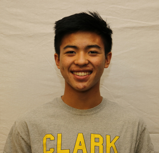 Michael Pasimio, Clark: The junior placed second in the Class 4A state singles tournament and third at the Sunset Region tournament. He helped the Chargers reach the Sunset Region team semifinals  ...