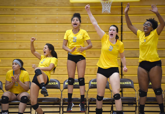 VOLLEYBALL: Bonanza rallies from 0-2 deficit to knock off ...