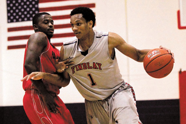 Findlay Prep's Rashad Vaughn, one of two McDonald's All-Americans on the team, will lead the Pilots into the National High School Tournament in New York City. (Jason Bean/Las Vegas Review-Journal)