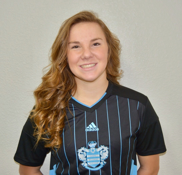 Hannah Anderson, Reed: The junior midfielder/forward, who was selected the High Desert Offensive Player of the Year, had 13 goals and seven assists for the Raiders.