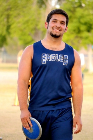 Samuel Gomez, Boulder City: The senior had the top mark in the discus regardless of division at the I-A state meet. He won with a throw of 189 feet, 11 inches and also placed second in the shot pu ...