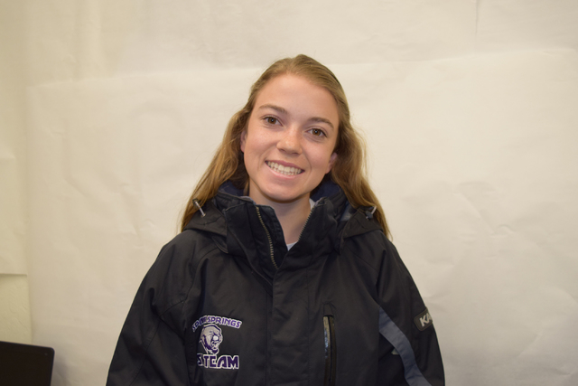 Savanah Martin, Spanish Springs: The freshman finished second in the combined event in 2:11.4 and was third in the giant slalom (1:05.0) in the state championships.