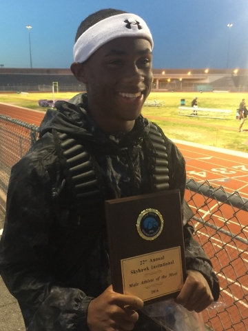 Tre James, Las Vegas: The senior won the 200-meter dash at the Division I state meet with a time of 21.99 seconds. He also second in the 100, just 0.003 seconds behind Silverado's Devion Clayton ...