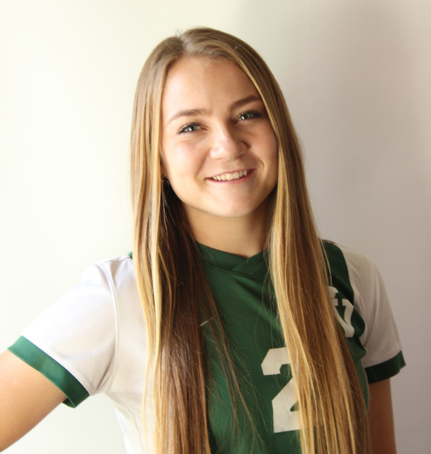 Abbie Barnum, Virgin Valley: The senior forward, who was the Sunrise League's Offensive Player of the Year, scored the most goals in Southern Nevada with 39. Barnum also had five assists for the ...