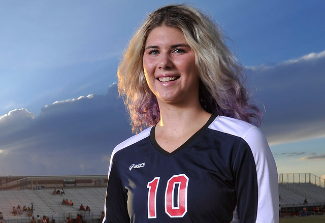 Coronado's Berkeley Oblad was named the All-Southern Nevada Most Valuable Player after helping her team to its second straight Division I state title this season. Oblad is a University of Utah sig ...