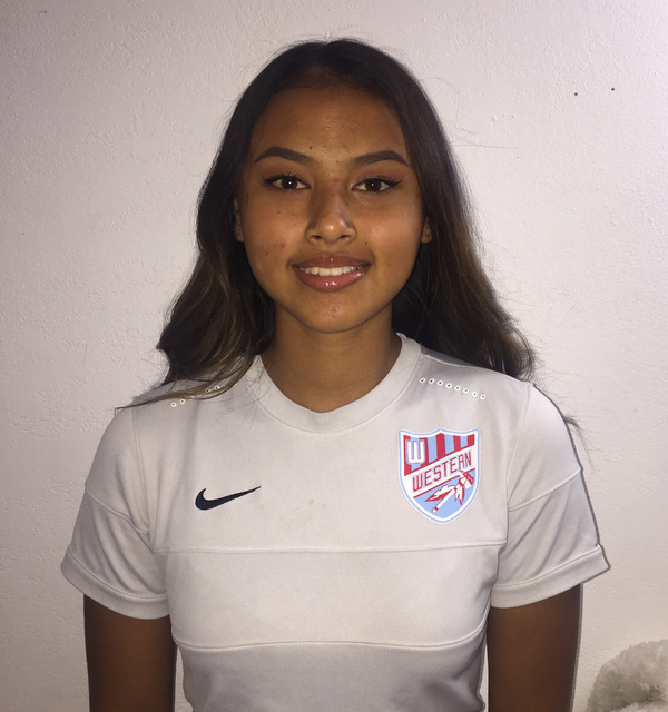 Ellyson Reynada, Western: The senior forward, who has committed to UNLV to play goalkeeper, had 38 goals and nine assists for the Class 3A state runner-up Warriors. Reynada was the Southern Region ...