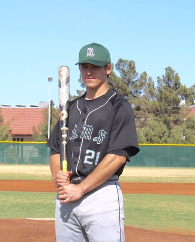 C Zach Barnhart, Rancho: The senior batted .467 with a homer and 30 RBIs. Was a first-team Division I All-Southern Nevada pick. Has signed with UNLV.