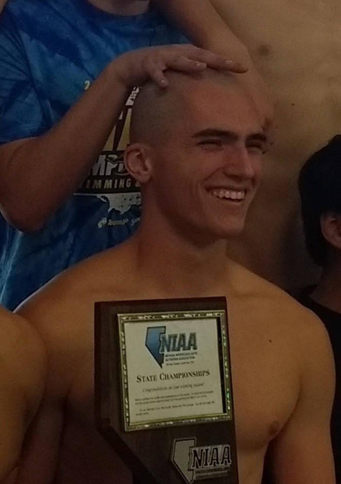 Braden Klouse, Boulder City: The senior won the 100 freestyle in 49.18 and the 200 freestyle in 1:48.95 at the Class 3A state meet.