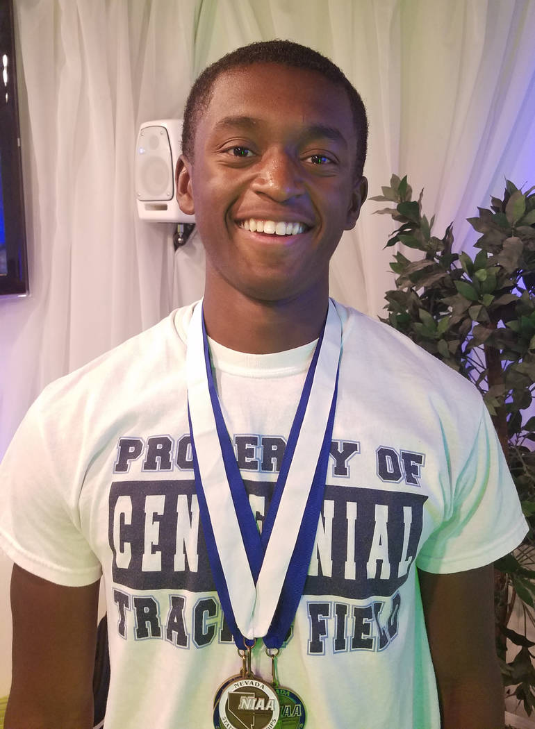 Randall Jubilee, Centennial: The junior was on two Class 4A state-winning relay teams, including helping set a state record in the 800 relay (1:25.51). His 1,600 relay team set a stat-meet record  ...