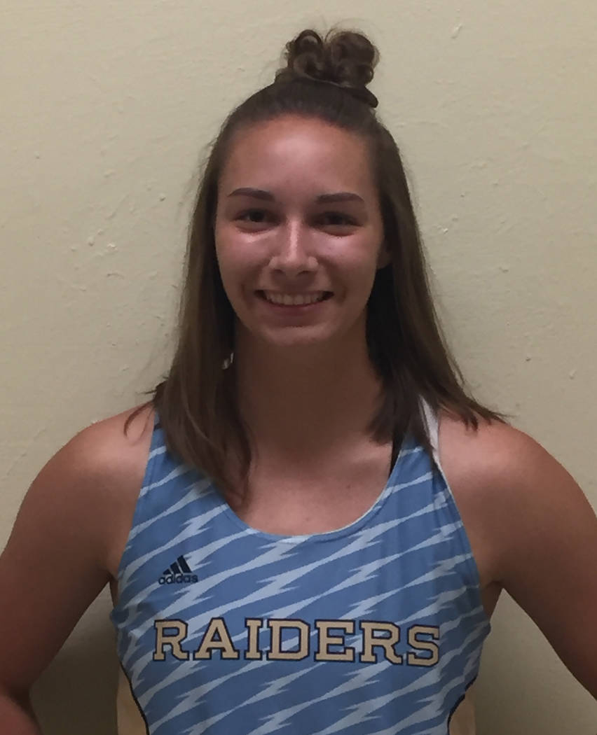 Makayla Linebarger, Reed: The senior set a Class 4A state meet record in the pole vault with a height of 13 feet, but it was not her best vault of the year. On March 25, she cleared 13-6, the all- ...