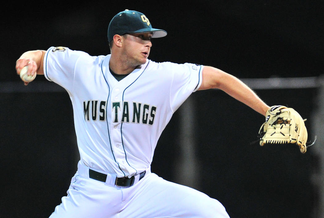 Cal Poly (Calif.) right-hander Erich Uelmen, a Faith Lutheran graduate, has signed with the Chicago Cubs. (Cal Poly Athletics)