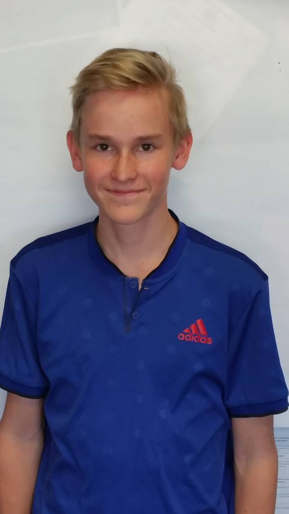 Mikael Tiilikainen is a member of the Las Vegas Review-Journal's all-state boys tennis team.