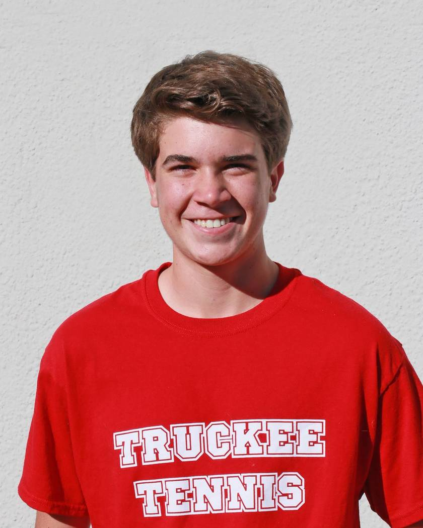 Noah Warren is a member of the Las Vegas Review-Journal's all-state boys tennis team.