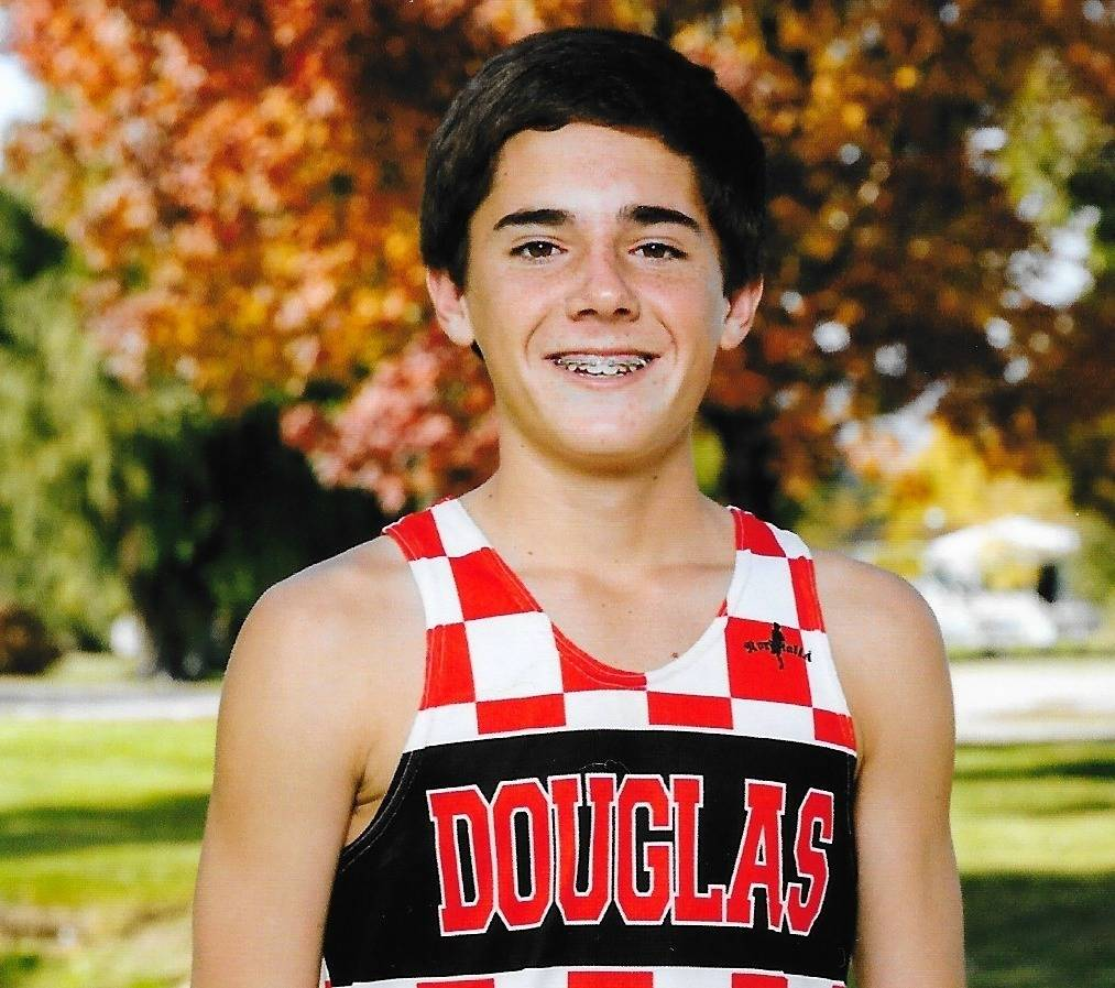 Douglas' Sean Dunkelman is a member of the Review-Journal's all-state boys cross country team.