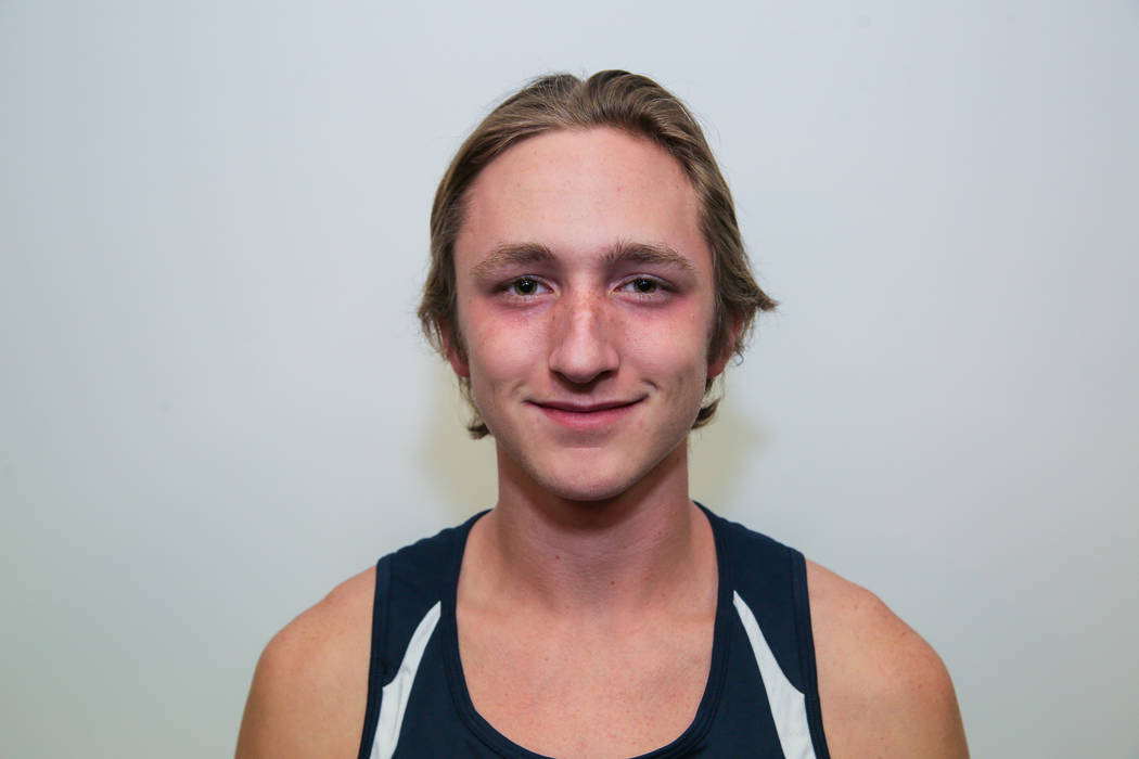 Coronado's Thomas Dougherty is a member of the Review-Journal's all-state boys cross country team.