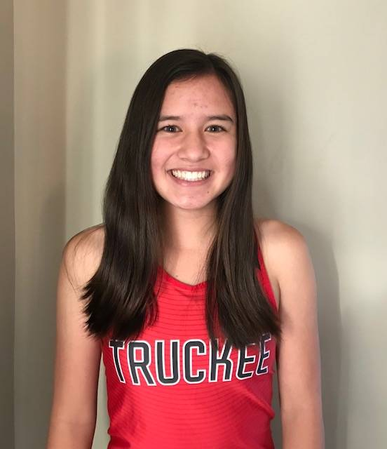 Truckee's Carly Davis is a member of the Las Vegas Review-Journal's all-state girls cross country team.