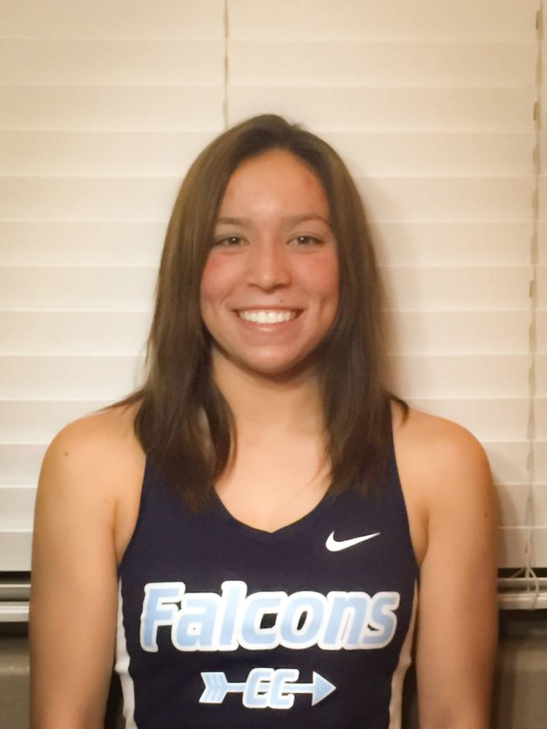 Foothill's Myna Buckley is a member of the Las Vegas Review-Journal's all-state girls cross country team.