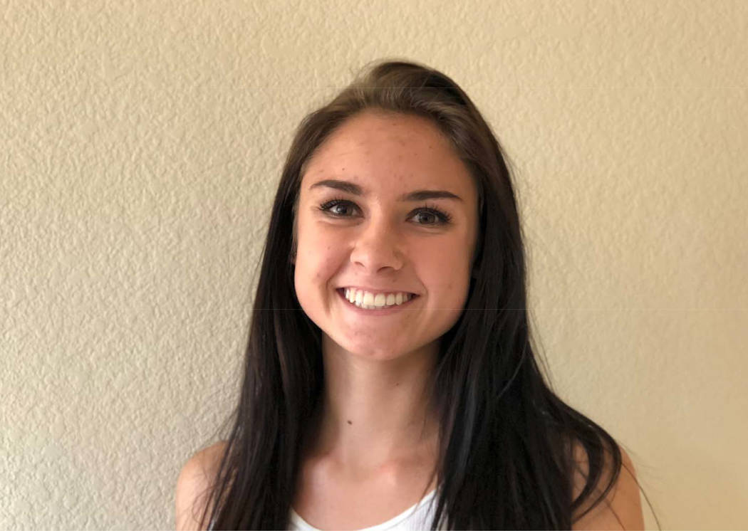 Carson's Rheanna Fallini-Jackson is a member of the Las Vegas Review-Journal's all-state girls cross country team.