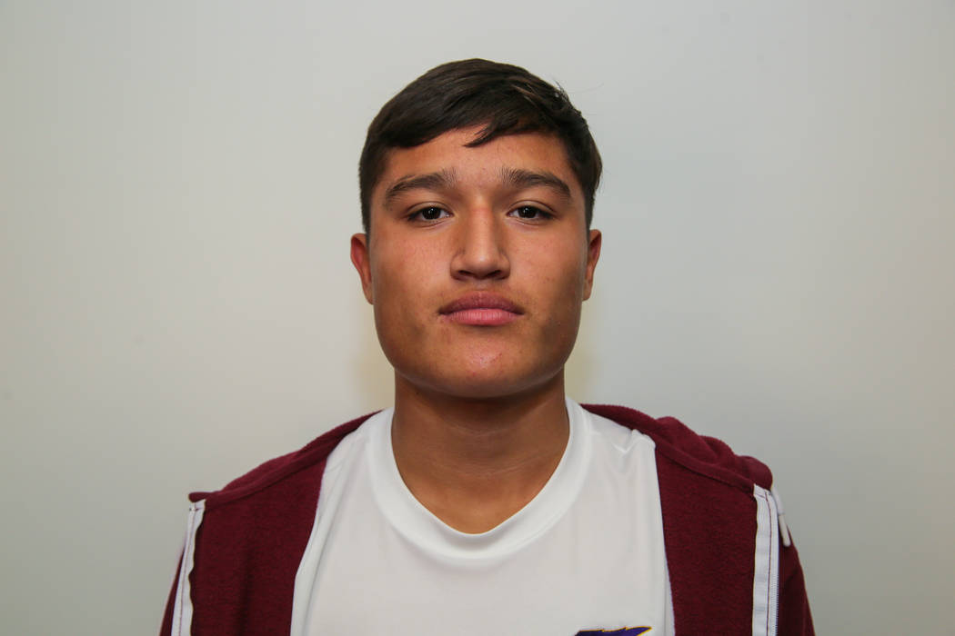 Durango's Gael Delangel-Parra is a member of the Las Vegas Review-Journal's all-state boys soccer team.
