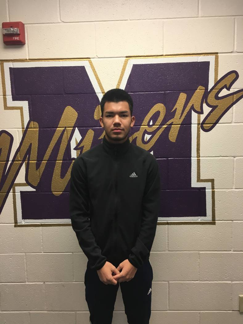 Sunrise Mountain's Marcos Plata is a member of the Las Vegas Review-Journal's all-state boys soccer team.