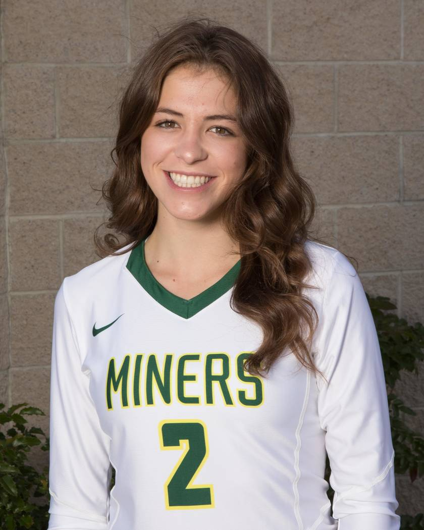 Bishop Manogue's Taylor deProsse is a member of the Las Vegas Review-Journal's all-state girls volleyball team.