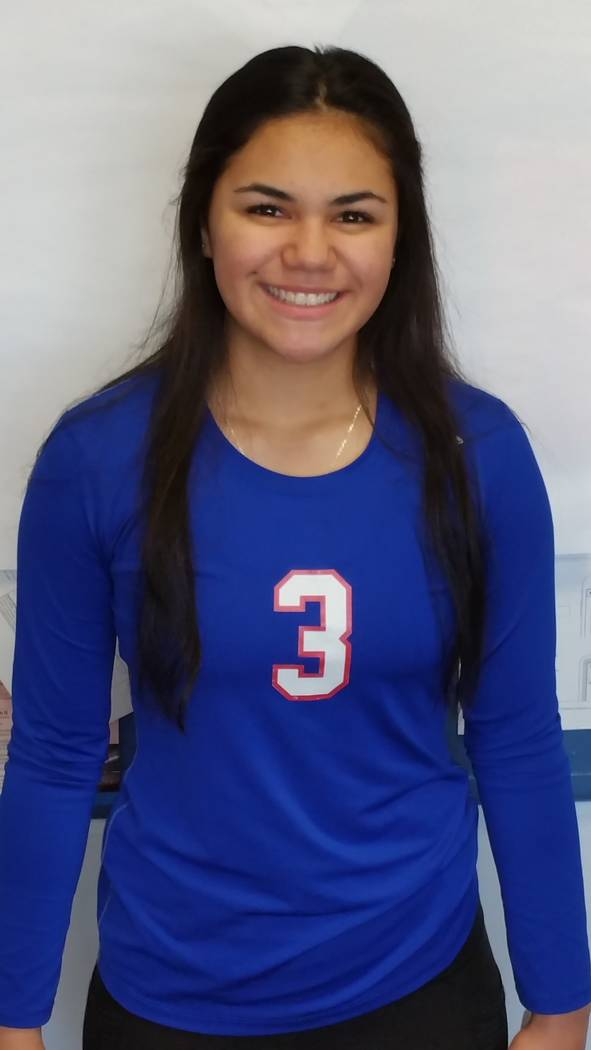 Reno's Karson Nakagawa is a member of the Las Vegas Review-Journal's all-state girls volleyball team.
