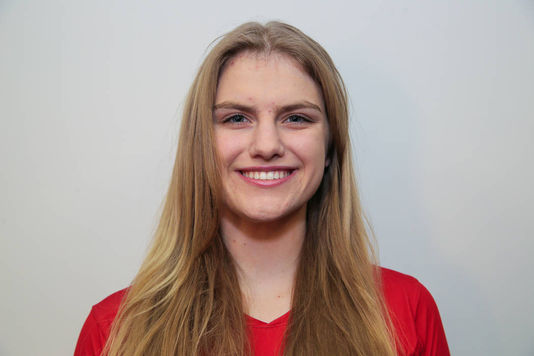 Coronado's Sasha Bolla is a member of the Las Vegas Review-Journal's all-state girls volleyball team.