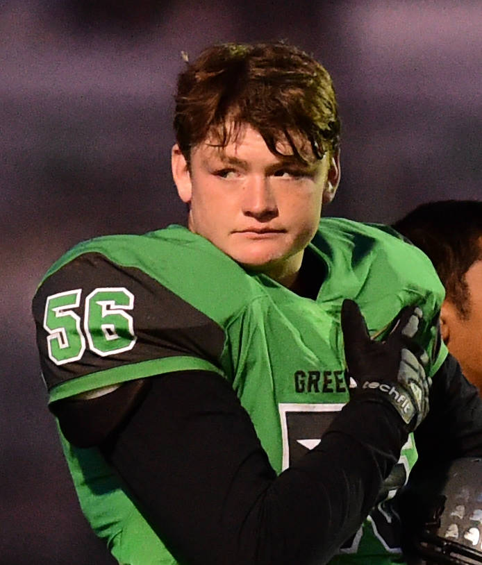 Churchill County's Ben Dooley is a member of the Las Vegas Review-Journal's all-state football team.